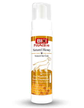 Natural Honey Dry Washing Foam Shampoo 200ml