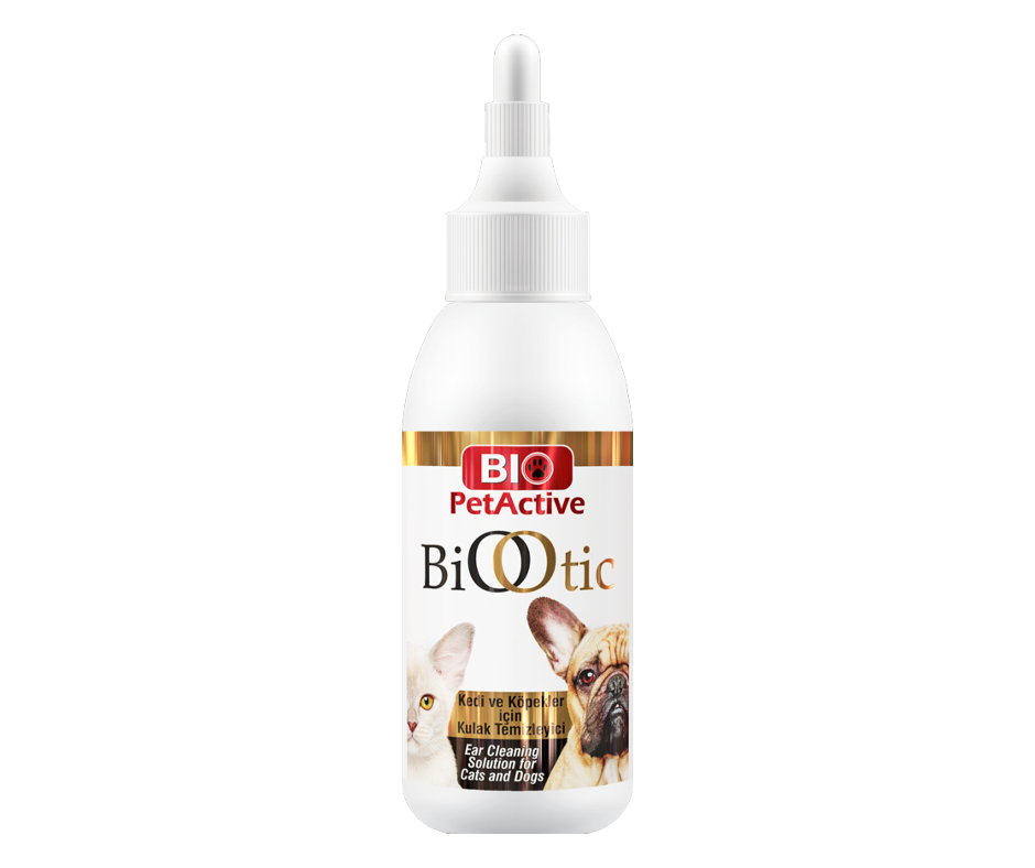 Bio Otic Ear Cleaner For Cats and Dogs 100ml