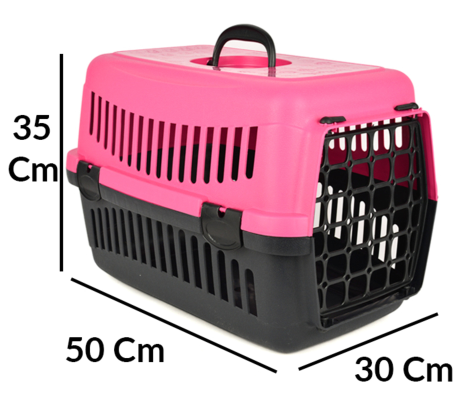 Pet Transportation Cage S 35-50-30cm