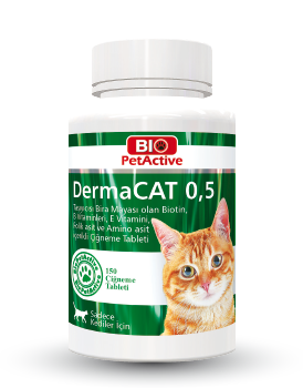 Dermacat 0,5 150 tabs Garlic and Brewer's Yeast Tablet 75g