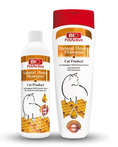Natural Honey Shampoo for Cats  250ml