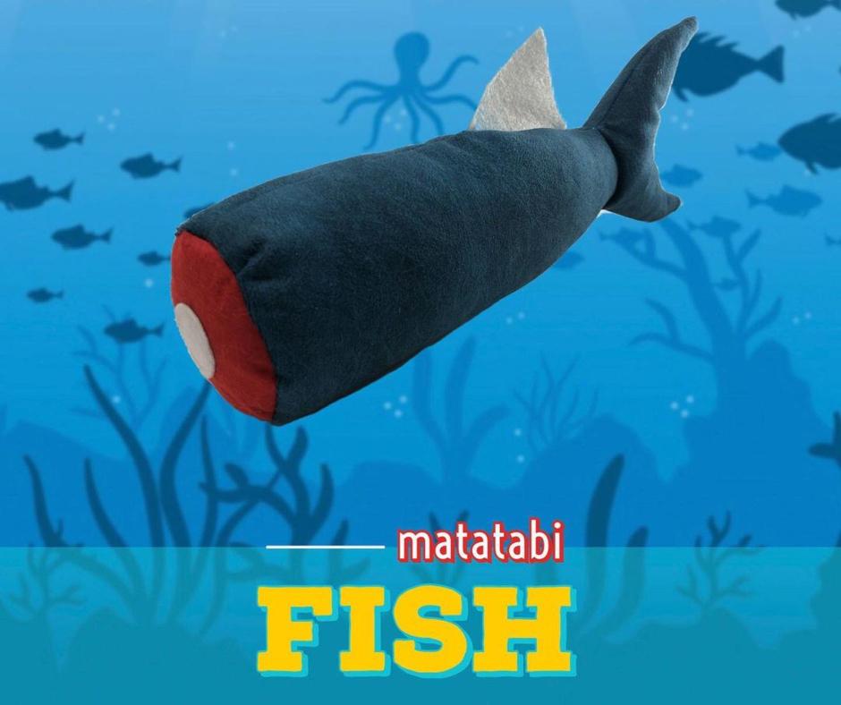 Pawdaz Matatabi Fish Cat Toy