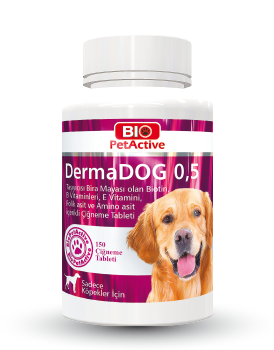 Dermadog 0,5 150 Tabs Garlic and Brewer's Yeast Tablet 75g