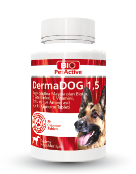 Dermadog 1,5 100 Tabs Garlic and Brewer's Yeast Tablet 150g