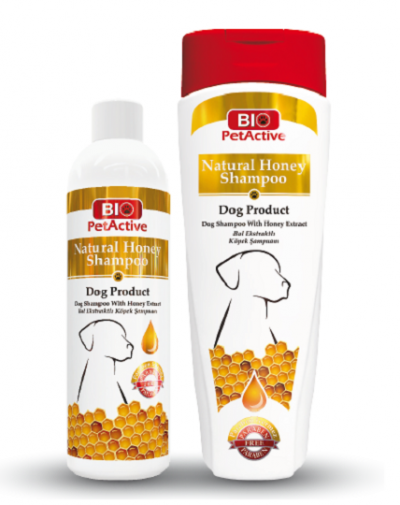Natural Honey Shampoo for Dogs 400ml