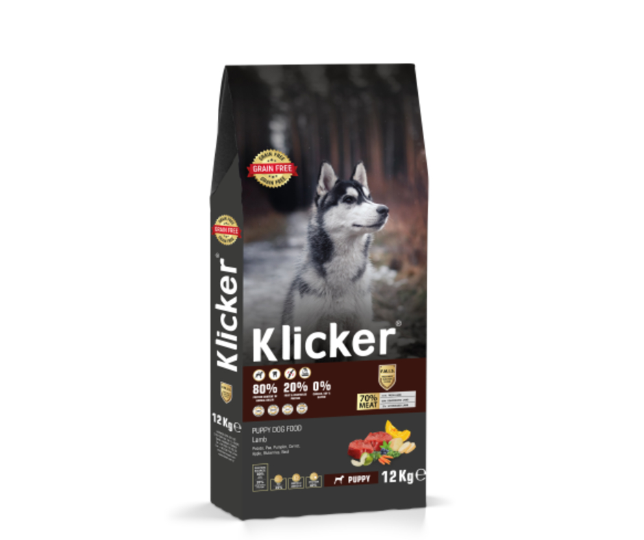 Grain Free Klicker Puppy Lamb 12kg