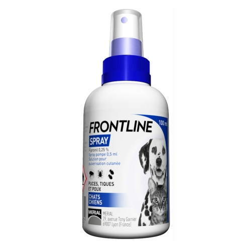 Frontline Anti Parasite Spray 100ml - Dogs and Cats (Puppies / Kittens)