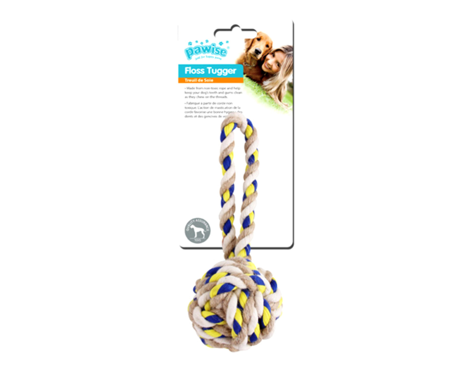 Floss Tugger Cord Ball Toy