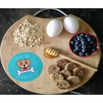 Blueberry Dog Biscuits
