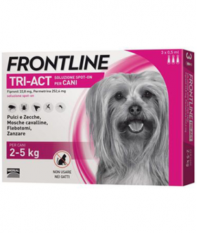 Frontline Tri Act 2-5kg